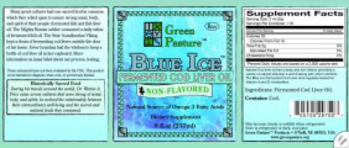 Blue Ice Non Flavored
